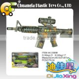 AK-3399B Chico de juguetes-Electric laser gun, plastic infrared gun toys for kid promotion gift