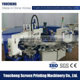 Automatic Single Color anti slip foot wear/stockings/hose/ Socks Silicone Printing Machine