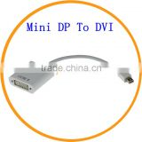 High Definition Mini Display Port DP To DVI Adapter Cable For Apple Macbook Pro from Dailyetech