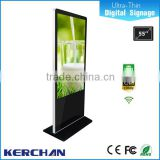 Control remoto indoor floor standing lg screen 55 inch interactive multi touch table/electronic advertising board