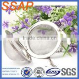 fine stainless steel filter wire mesh tea ball