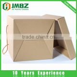 Cardboard box 3-Layer B-Flute Flexo Corrugated Stackable