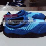 TPR outsole material and men and women gender aqua shoes