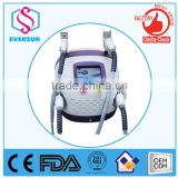 Cheap price Derma 2016 Best Seller portable small IPL SHR&E-light hair removal equipment&machine from Eversun Golden supplier
