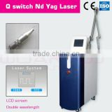 1064nm/532nm/585nm/650nm laser tattoo removal machine for any red color tattoo and blue color