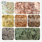 High Temperature Resistance Colored Flakes for Granite Effect Coating