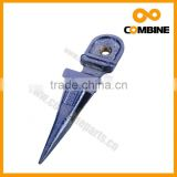 Agricultural machinery spare parts forged cutting finger guard