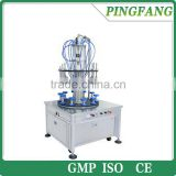 LM-SG-C ten-head rotary small perfume bottle filling machine