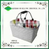 Woven durable cheap empty picnic baskets