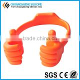 Portable silicone promotional mobile phone holders