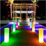 Led waterproof rechargeable illuminated outdoor pub pillar