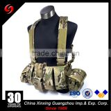 2017 Hot selling multi-land camouflage blue bellyband tactical vest airsoft for outdoor & army