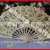 2015 new style lace ladies fan for wedding
