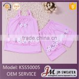 Famous Brand Pink Princess Baby Girls Vest Set Newborn Girls Clothing