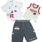 Summer baby boys apparel.