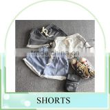 high quality summer womens sports shorts casual shorts Pure cotton terry flanging wide-legged pants