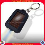 The new burst sell / Solar Rechargeable LED small flashlight keychain flashlight small flashlight