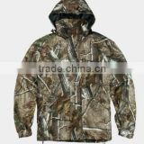 Camouflage hunting clothes softshell outdoor tactical military fleece jacket crane snow ski wear