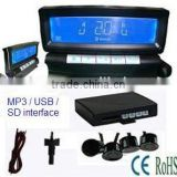 Bluetooth Stereo Handsfree With MP3 Player, bluetooth car kit BT-868C4 (New model)