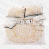 Wholesale queen size bedding bedspread 100% cotton handmade bedding set duvet cover