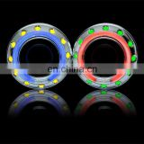 2.5inch car HID projector lenses bixenon lens projector light with double CCFL angel eyes