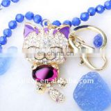 KITTEN CRYSTAL KEYCHAIN BAG ACCESSORIES