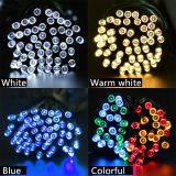 Waterproof LED Solar String Light 22M 200LED Solar Fairy String Light Outdoor Garden Wedding Decoration Christmas Light