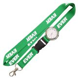 special polyester digital watch lanyard with carabiner hook
