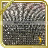 Fancy crystal beads wedding table decorations hotfix rhinestone mesh FRM-205                                                                                                         Supplier's Choice