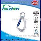 alibaba express 5*50 DIN5299D snap hook/Carabiner/Safety buckle with screw stainless steel screw