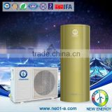 5.0kw Air Source heat resistant pump(CE approved Split type with 4.2 COP)