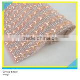 24*40 cm Triangle Ceramic Mix Beads Rhinestone Glue Net Sheets Wholesale