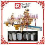 Sigle machine fireproof hollow core slab machine