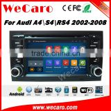 Wecaro WC-AD7684 Android 5.1.1 navigation system for audi a4 2002-2008 autoradio gps dvd Car DVD Player radio gps multimedia