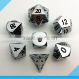 high quality metal dice set for dnd game