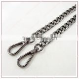 gold chain for bag chain with hooks bag hook sew snap fasteners dog snap hook