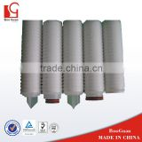 industry high-flow rate PP pleated filter cartridge
