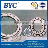 Four Point Contact Ball Type MTO-210X Slewing Bearings (8.268x14.686x1.968 inches)