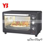 "110V to 240V 23L home use electric conveyor pizza oven for 12"" pizza"