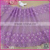 "Nylon Spandex Wide Purple 10.03"" Super Strech Soft Warp Knitted ladies new model dress & ladies fashion lace dresses                                                                         Quality Choice"