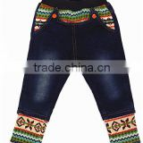 new arrival boys joint jeans trousers,boys winter pants warmers,popular kids cotton clothes of skinny pant