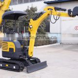 zero swing mini excavator,imported engine,Rubber track,bucket 400mm width ,Canopy or cabin,Retractable undercarriage
