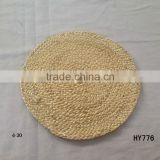 cheap corn husk wholesale dining table decorative mat round woven placemats for tableware
