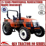 Economical and Practical QLN 704 70hp 4wd small garden tractor implements