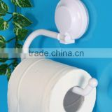 Bathroom Semi-Ring Toilet Paper Holder, Magic Suction Hook AW203