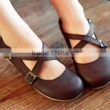 Hot selling indian women juti shoes ladies elegant flat shoes with low price XT-DA0898