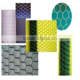 hexagonal galvanized/ pvc coated hexagonal wire mesh/ horse cage/ chicken cage from Hebei