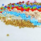 Cheaper price Czech style rainbow glass fashion beads with round hole                                                                         Quality Choice
