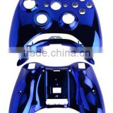 Custom for xbox One Chrome Blue Replacment Shell Buttons for xbox 360 Mod Kit Controller