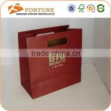 matt/glossy surface handing fancy paper gift bag, jewelry paper bag, die cut handle paper bag